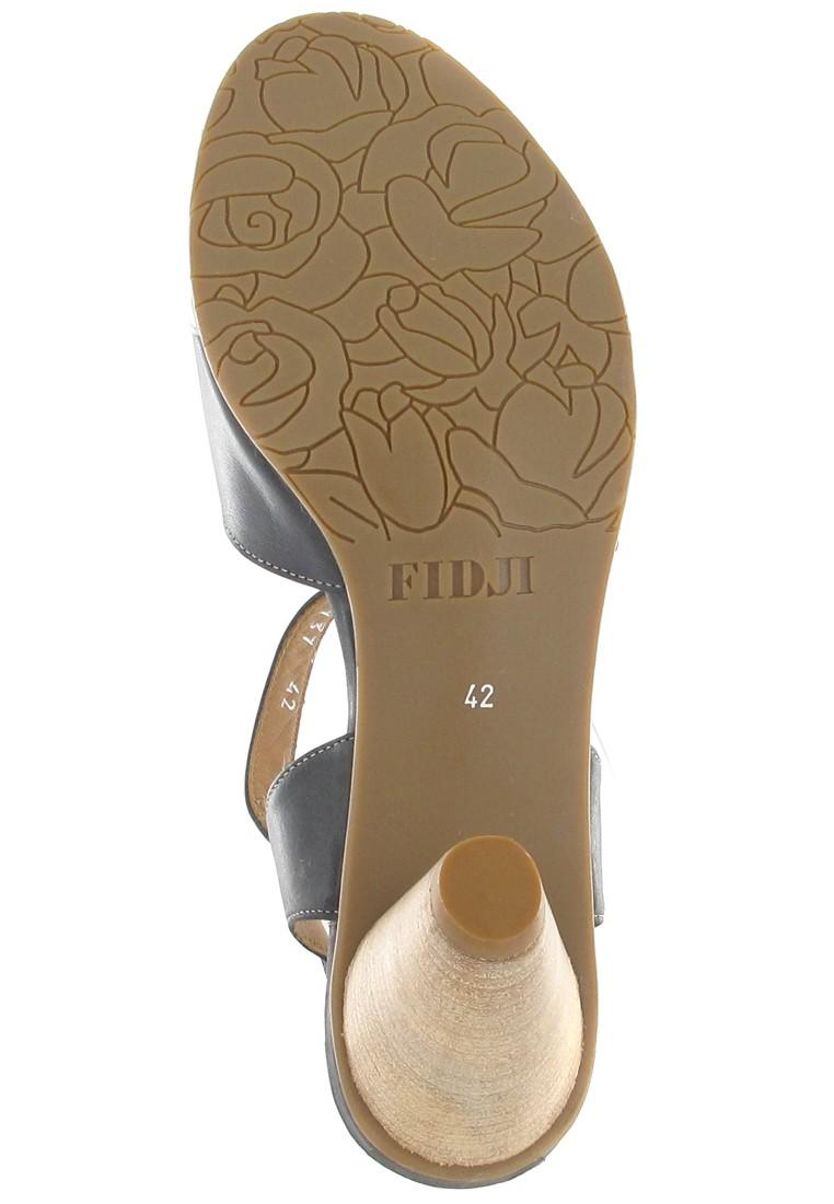 fidji damen sandaletten schwarz schuhe in bergr en. Black Bedroom Furniture Sets. Home Design Ideas