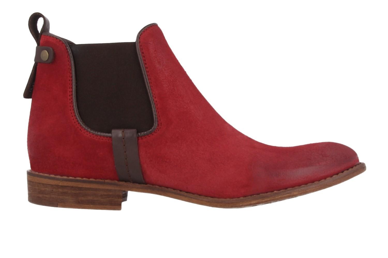mustang damen chelsea boots rot schuhe in bergr en. Black Bedroom Furniture Sets. Home Design Ideas