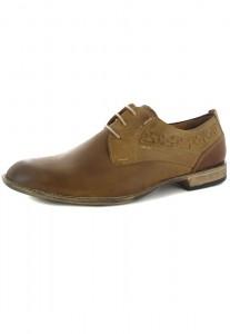 FRETZ MEN - Tosco - Herren Business Schuhe - Braun Schuhe in Übergrößen