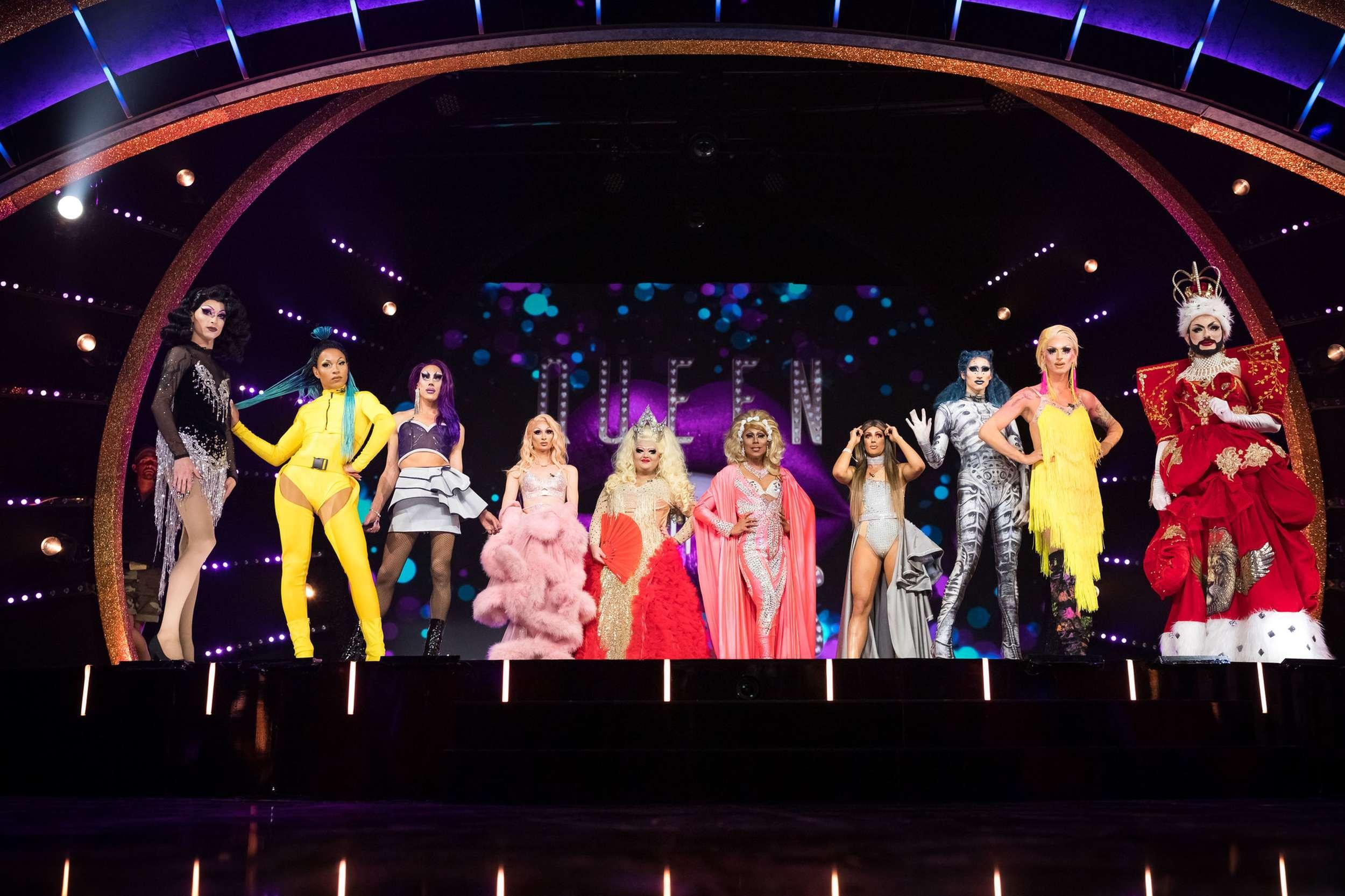 """It's time to shine! ProSieben startet Show """"Queen of Drags"""". Übergrößen-Spezialist schuhplus ist Ausstatter."""