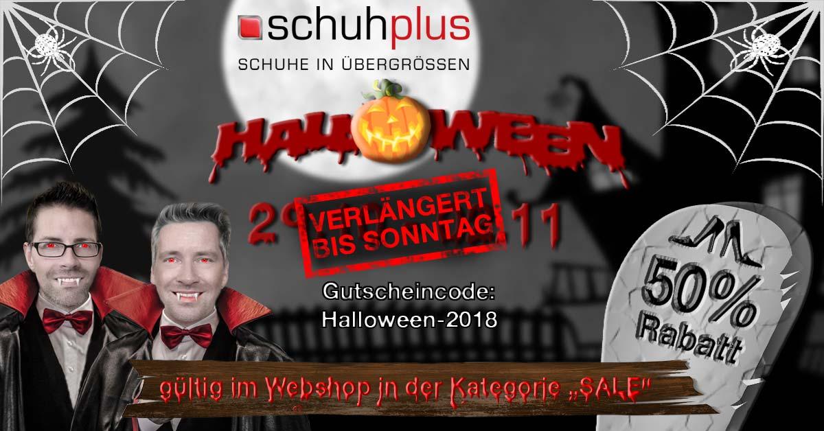 Halloween bei schuhplus