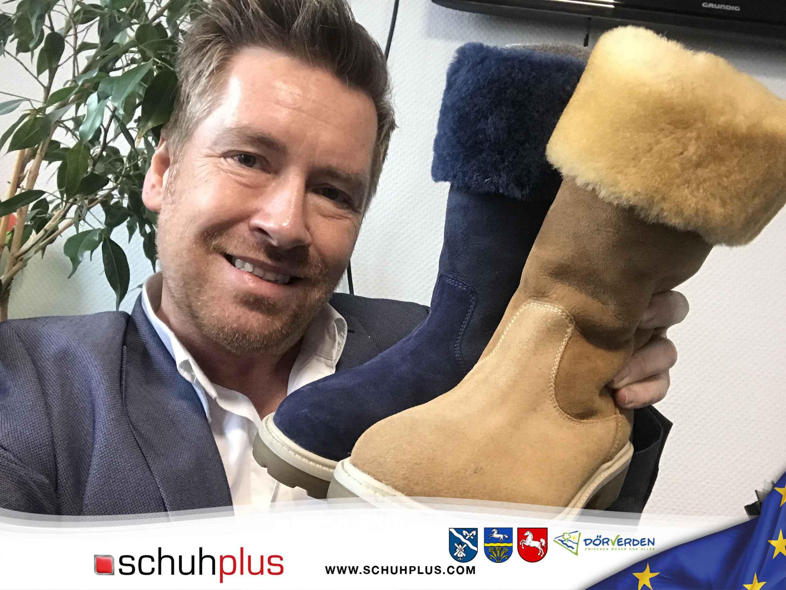 Schuhplus – Chef Kay Zimmer ordert die ersten Kollektionen