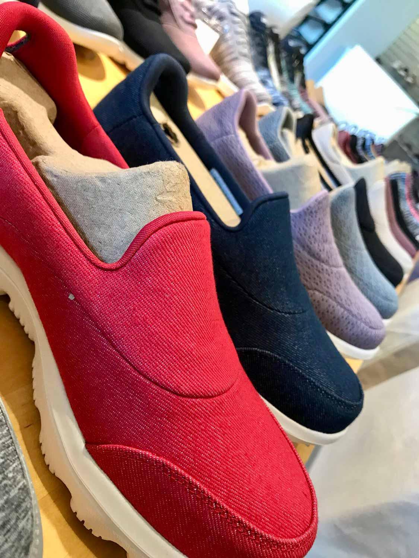 Kay Zimmer, Chef von schuhplus - Schuhe in Übergrößen, im ModeCentrum Hamburg bei Skechers