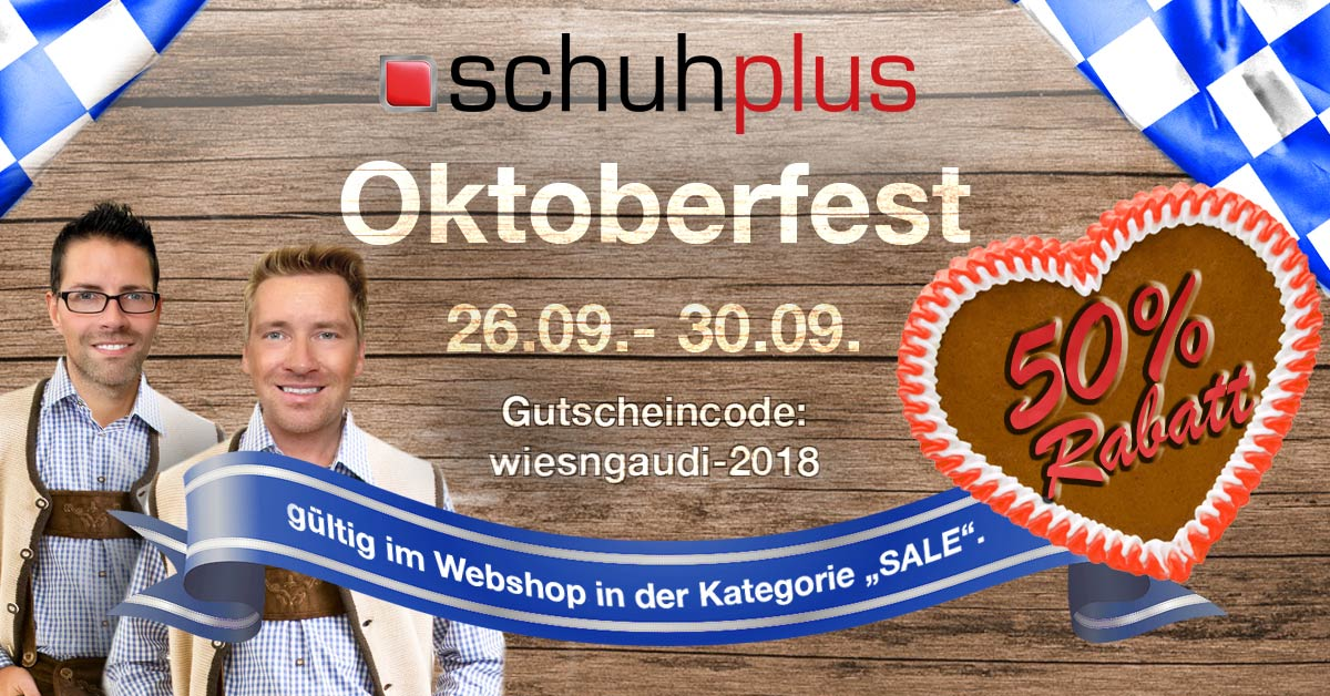 Das schuhplus Oktoberfest